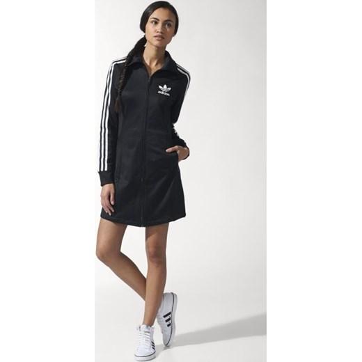 bd12182023 Sukienka adidas ORIGINALS Europa Dress W S19844 hurtowniasportowa-net czarny  bawełna