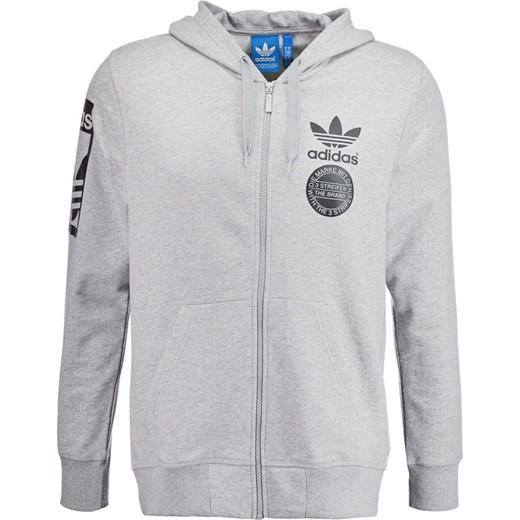 sprzedaż hurtowa 100% autentyczny wylot online adidas Originals Bluza rozpinana grey zalando szary abstrakcyjne wzory