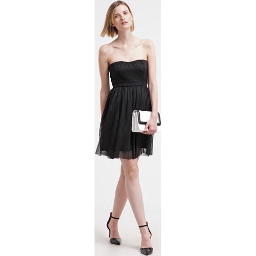 8741648cf ... ONLY ONLPRINCESS Sukienka koktajlowa black zalando na randkę. ONLY  ONLPRINCESS Sukienka koktajlowa black zalando czarny bez wzorów/nadruków