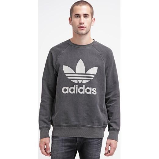 adidas Originals Bluza wobldn zalando szary abstrakcyjne wzory