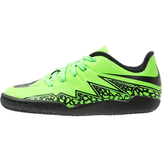 Nike Performance HYPERVENOM PHELON II IC Halówki green strike black zalando  zielony Buty chłopięce do ... 7a02de54ce