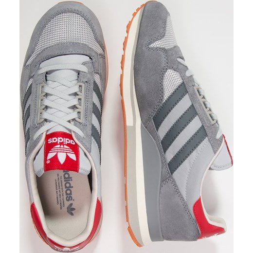 new product 11b6a 17f34 ... usa adidas originals zx 500 og tenisówki i trampki grey onix collegiate  red zalando szary 38257