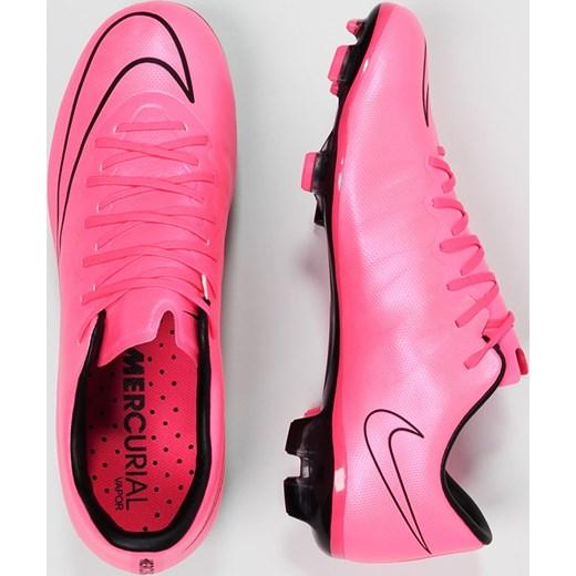 the latest d72a3 459f2 Nike Performance MERCURIAL VAPOR X FG Korki Lanki hyper pinkblack zalando  rozowy Buty chłopięce do piłki nożnej w Domodi