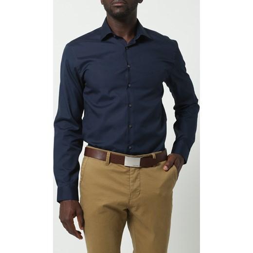 2292ba7f30025 Calvin Klein Jeans MINO Pasek dark brown zalando czarny w Domodi