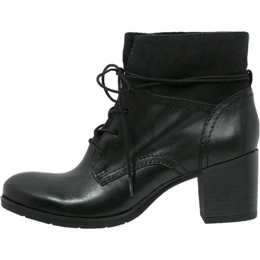 e4befa75bd256 Pier One Ankle boot black zalando czarny abstrakcyjne wzory w Domodi