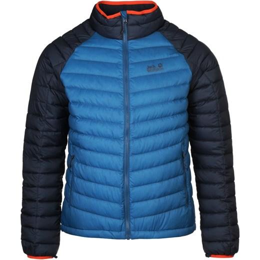 zawsze popularny nowy styl wysoka moda Jack Wolfskin ZENON BASIC SNAP IN Kurtka puchowa moroccan blue zalando  niebieski długie