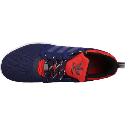adidas zx flux granatowo czerwone