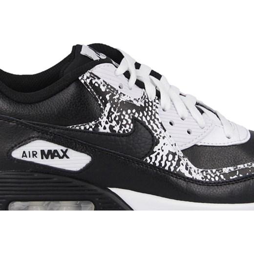 BUTY DAMSKIE SNEAKERSY NIKE AIR MAX 90 PREM LEATHER (GS) 724871 001 sneakerstudio pl czarny do biegania