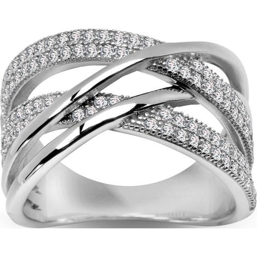 701eb005a3b898 Scarlett - srebrny pierścionek z cyrkoniami yes srebrna w Domodi