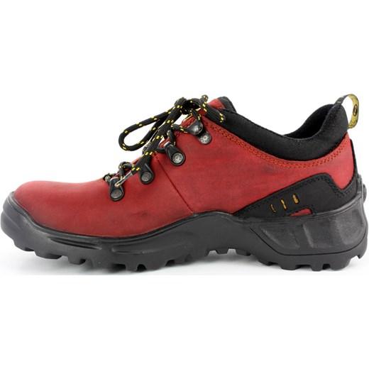 7d3e4a53f2c51 ... Półbuty trekkingi Lesta 3512 czerwony - Czerwony butynalata-pl czerwony  płaska podeszwa ...