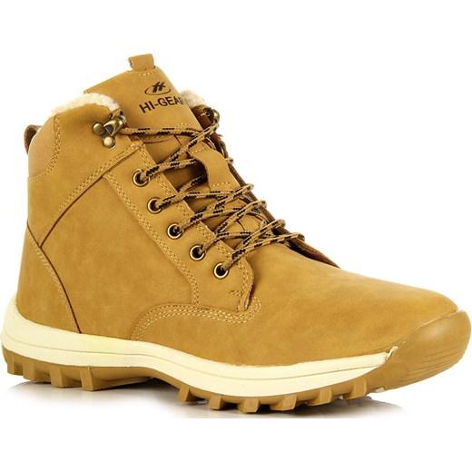 03b8dbf8 HI-GEAR NZ131 żółte buty męskie trekkingowe ocieplane butyraj-pl zolty zima  w Domodi