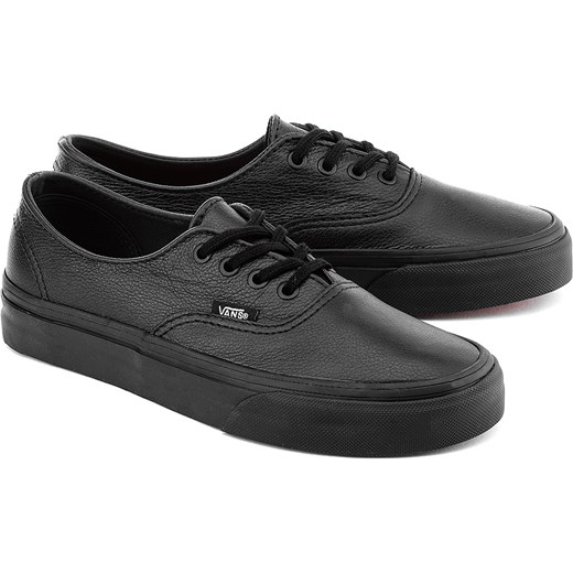 vans authentic skórzane
