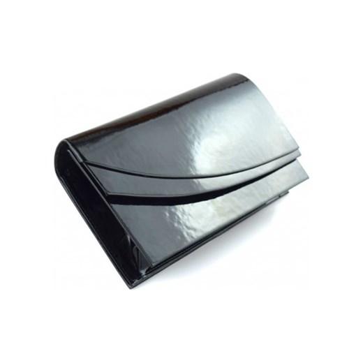 b96a71eb5d80b Torebka Kopertówka czarna lakierowana mała mk-shoes mietowy elegancki
