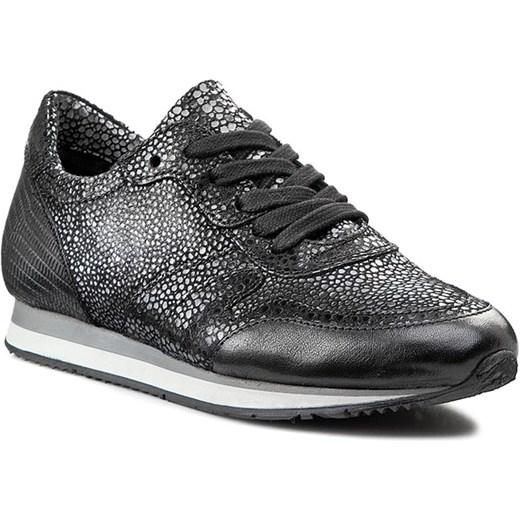 3df4696d Sneakersy VENEZIA - 602114 Nero eobuwie-pl szary Buty sportowe casual w  Domodi