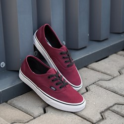 vans authentic bordowe damskie