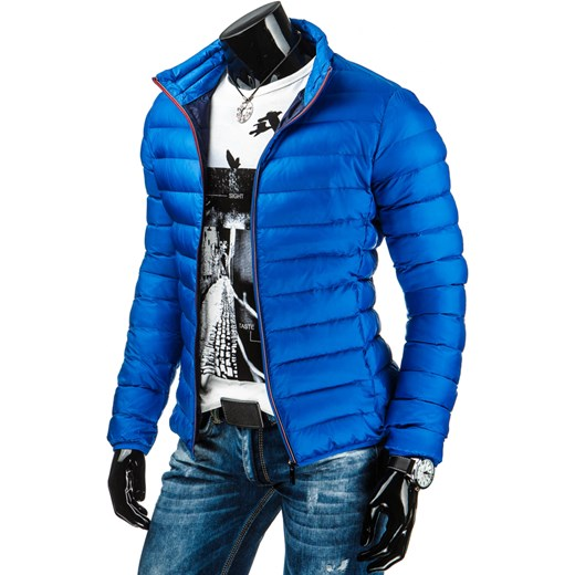 e2e04cef44fc8 Kurtka męska niebieska (tx0905) dstreet niebieski Kurtki męskie ...