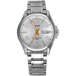 37d83e9d12d46 Zegarek Męski Casio MTP-1377D-7AVDF + dodatkowo otrzymasz cyfrowy zegarek  ZA DARMO +