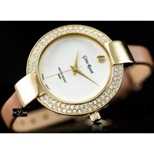 639470f555040 ... Zegarek damski Gino Rossi - DIANA (zg500d) zegarki-cc bezowy Zegarki  damskie ...