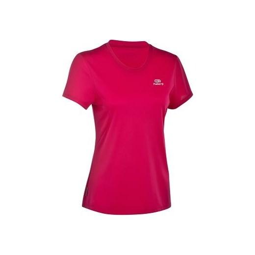 180422ac0 Koszulka do biegania krótki rękaw damska EKIDEN decathlon czerwony Bluzki  sportowe ...