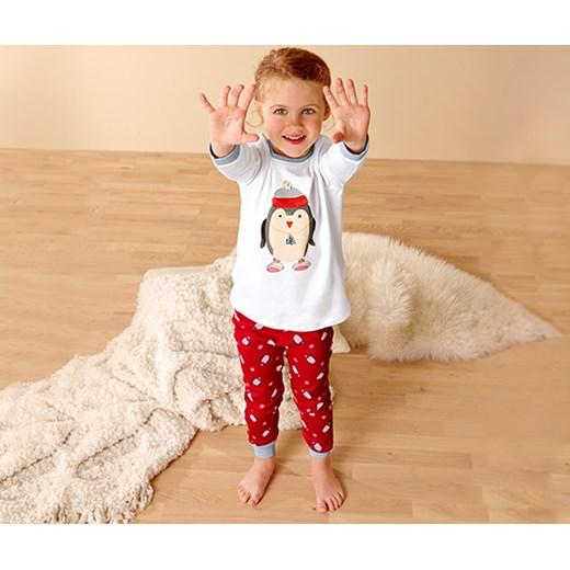 e51be4d8df16d6 Dziecięca piżama z dzianiny interlock tchibo bezowy bawełna w Domodi