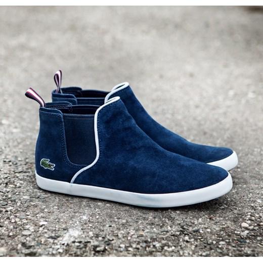 tanio na sprzedaż buty sportowe 100% jakości LACOSTE ZIANE CHELSEA CRT galeriamarek-pl czarny markowy