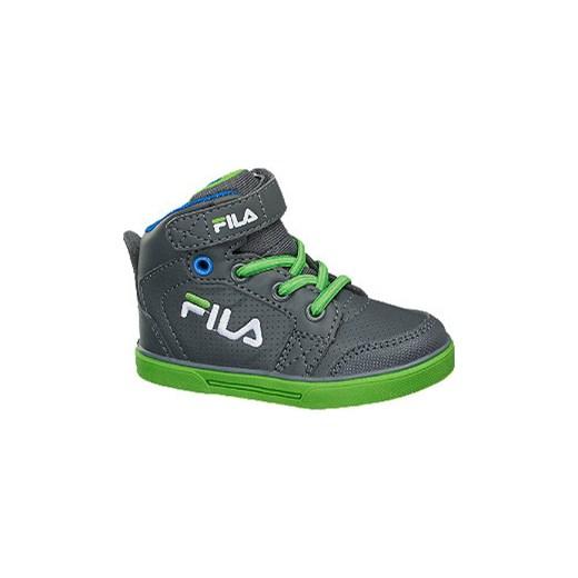 sportowe buty dziecięce Fila deichmann zielony wiosna