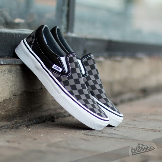 vans checkerboard szare
