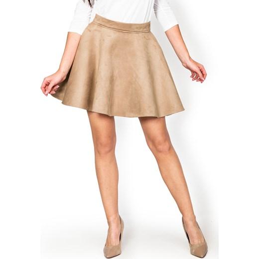 b54f553a Spódnica rozkloszowana z flauszu zoio-pl elegancki