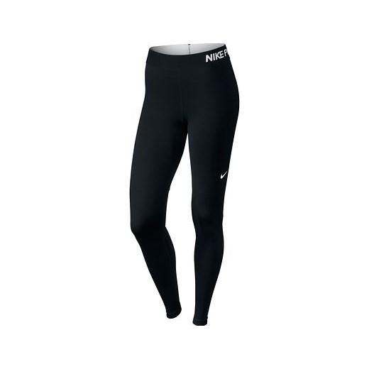 753f81158 Legginsy damskie Nike PRO decathlon czarny bez wzorów w Domodi