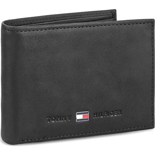 671d085f9ce60 Mały Portfel Męski TOMMY HILFIGER - Johnson Mini Cc Flap And Coin Pocket  AM0AM00662 Black 002