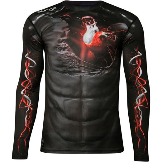ad03e4cf7 Koszulka termoaktywna Surge Układ Krwionośny długi rękaw r. L zbrojownia  czarny elastan