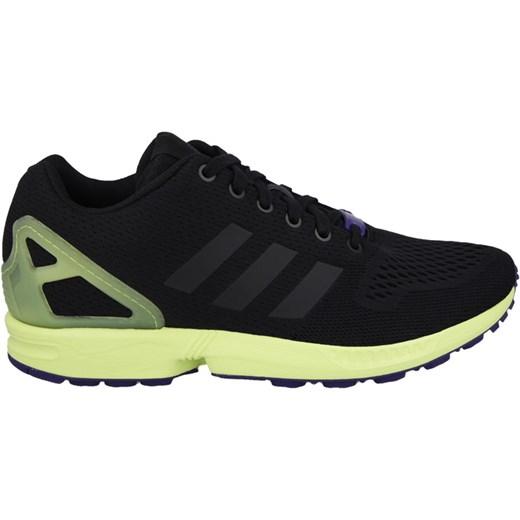 BUTY MĘSKIE SNEAKERSY ADIDAS ORIGINALS ZX FLUX AF6318 sneakerstudio pl czarny elegancki