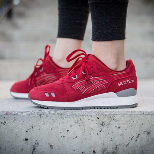 asics gel lyte 3 bordowe