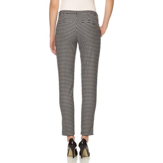 59350a605675 ... cygaretki damskie  Spodnie cygaretki w pepitkę orsay-com szary wiosna