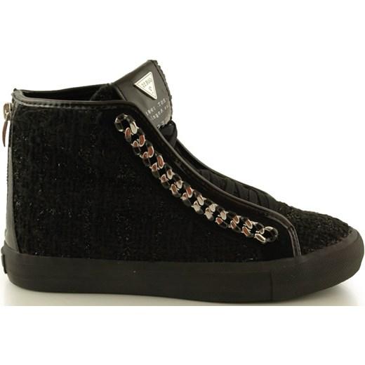 05963717920f9 Trampki Guess FL4LLYFAM12 Black 2052-071 zebra-buty-pl czarny młodzieżowy  ...