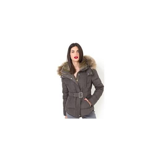 20ac366f78972 ... Krótka kurtka pikowana z prawdziwego puchu la-redoute-pl szary Kurtki  damskie pikowane