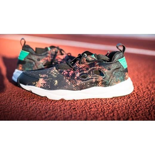 BUTY REEBOK FURYLITE ROSES PACK V62744 sneakerstudio pl szary abstrakcja