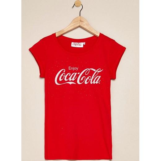 Coca Cola t shirt terranova nadruki w Domodi