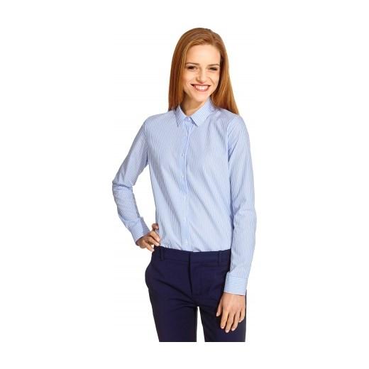 7c92e9127eb9 Niebieska koszula damska Wólczanka wolczanka niebieski inne koszule ...