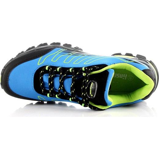 bd7733b880f100 HASBY 1946A niebieskie buty trekkingowe damskie wodoodporne butyraj-pl  niebieski w Domodi