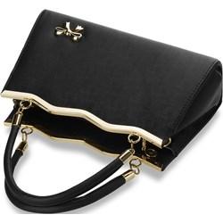 f9c0ff8cb0e77 Czarne torebki damskie world-style.pl do ręki małe
