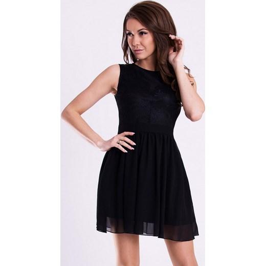 c106bcfe00 Rozkloszowana sukienka - czarna hege czarny lato w Domodi