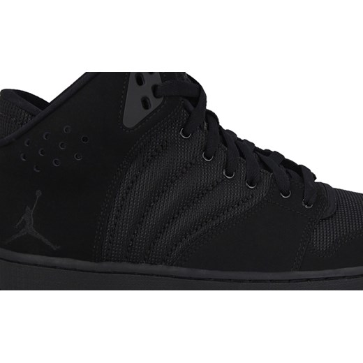 Buty męskie sneakersy Nike Jordan 1 Flight 4 820135 010 sneakerstudio pl czarny jesień