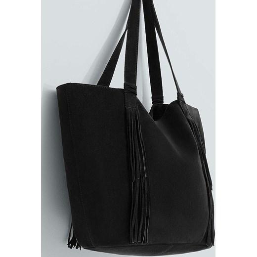 3c1483c075648 Torebka - Mango - Torebka Wally answear-com czarny skóra ...