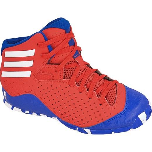 7fe51a204d695 Buty koszykarskie adidas Next Level Speed 4 NBA Jr AQ8498 Adidas  pomaranczowy hurtowniasportowa.net