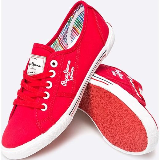70abb39644c78 Czerwony Aberlady W Pepe Domodi Buty Tenisówki Jeans wvtxACC0qI