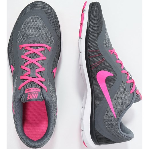 big sale 71c22 ae5d2 Nike Performance FLEX TRAINER 6 Obuwie treningowe cool greypink blastdark  grey ...
