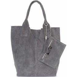 5e257f8753b6b Shopper bag Genuine Leather - PaniTorbalska
