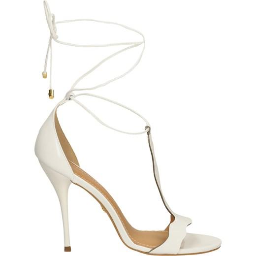 c25451d8 Białe sandały damskie Kazar 41 kazar.com; Białe sandały damskie bezowy ...