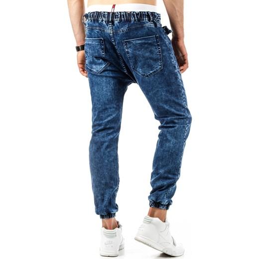 e1ca0dbe7337e1 ... Spodnie joggery męskie granatowe (ux0669) Jeans niebieski XL DSTREET ...